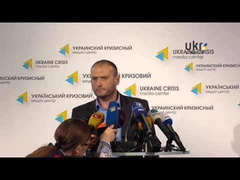 Dmytro Yarosh. Ukrainian Сrisis Media Center. May 22, 2014