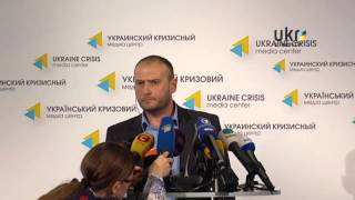 Dmytro Yarosh. Ukrainian Сrisis Media Center. May 22, 2014
