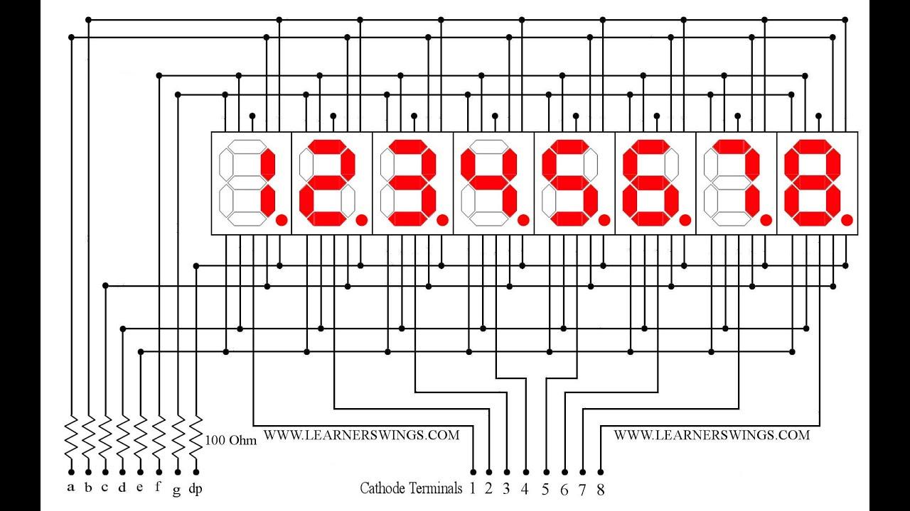 Digital Display Circuits Digital Circuits Worksheets