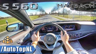 2019 MERCEDES MAYBACH S CLASS S560 4.0 V8 BiTurbo POV Test Drive by AutoTopNL