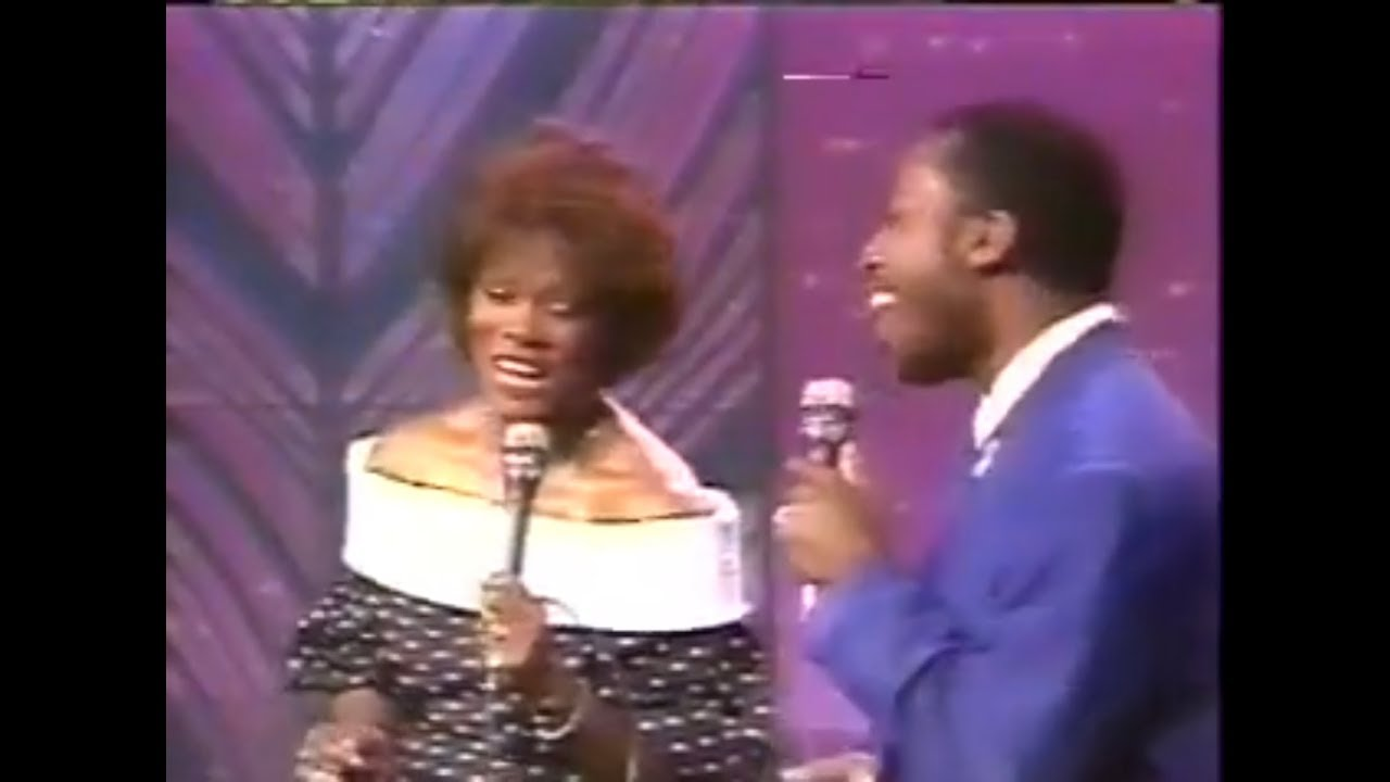 Download Dionne Warwick & Jeffrey Osborne - Love Power   The Tonight Show 1987
