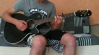 Blue - One Love Acoustic Cover Guitar