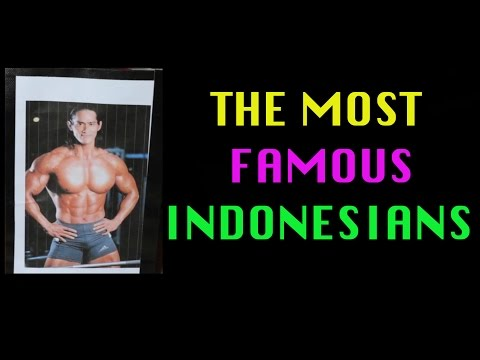 Famous Indonesians Menurut Bule (Part 1) - A Social Experiment