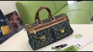 Замена канта на сумке louisvuitton в мастерской Fullservice