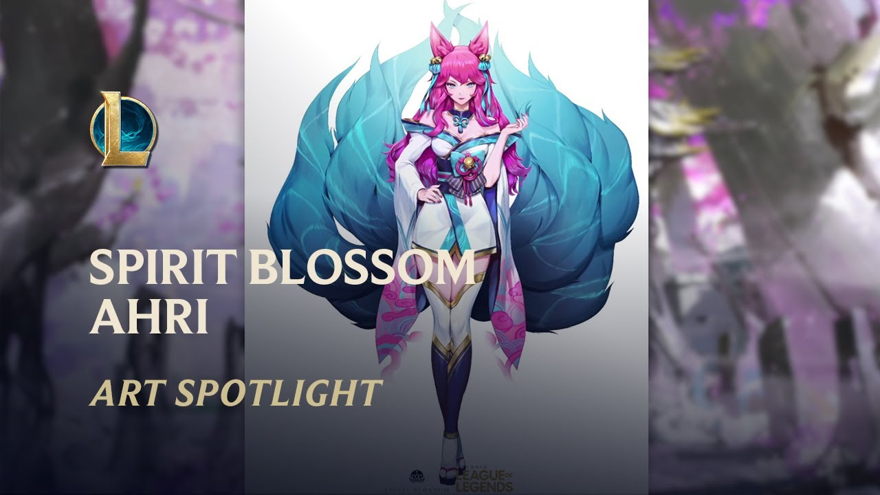 Spirit Blossom Ahri - Spirit Bonds: Art Spotlight | League of Legends
