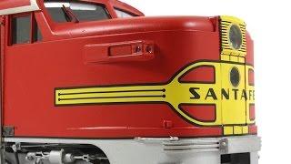 Santa Fe Chief PA Super Chief O Scale 2 Rail