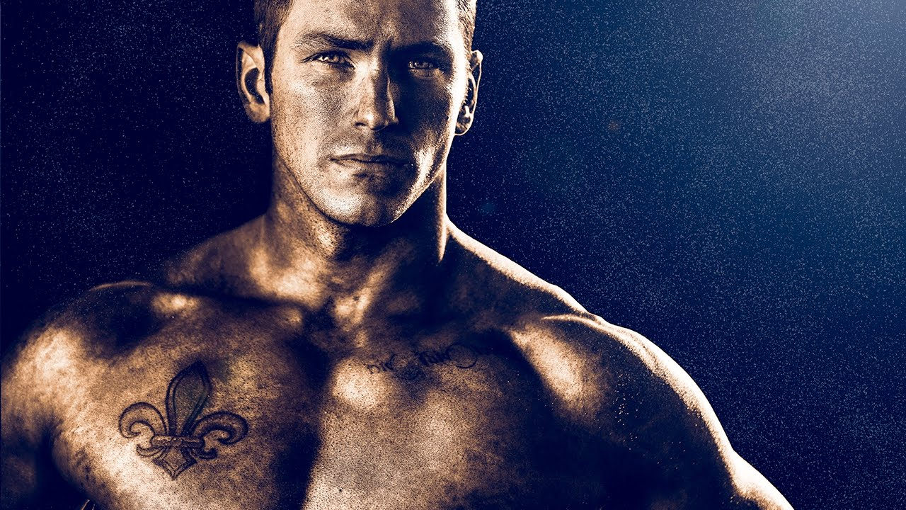 Dramatic Bodybuilding and Sports Edit in Photoshop and Lightroom - Golden Effect