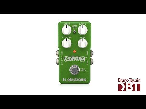 TC ELECTRONIC CORONA CHORUS - Basse - Test Complet /// Bruno Tauzin
