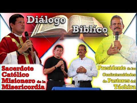 Inigualable! Dialogo Bíblico Presidente de las Confraternidades del Táchira con el Padre Luis Toro