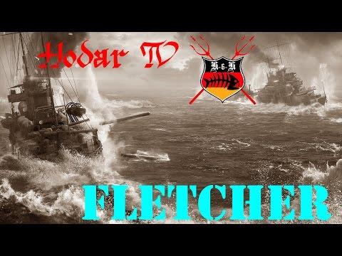 Tier IX Zerstörer Fletcher - Torpedos aus dem Hinterhalt