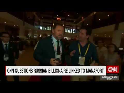Deripaska VS CNN Reporter