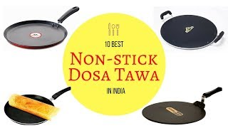 10 Best Non-stick Dosa Tawa In India With Price 2018 I Best Dosa Tawa Brand