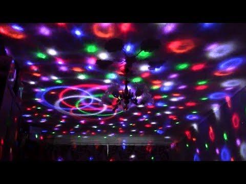 Светодиодный диско шар Led Magic Ball Light с Aliexpress. ЛУЧШЕЕ С АЛИЭКСПРЕСС