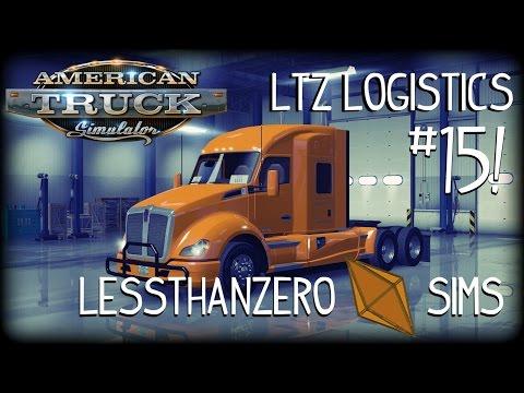 American Truck Simulator | LTZ Logistics - Ep. 15: Las Vegas to Yuma
