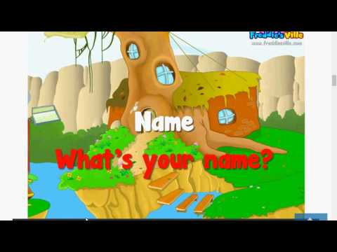 Lesson 2  - Name  -  What's your name? -  How do you spell your name?