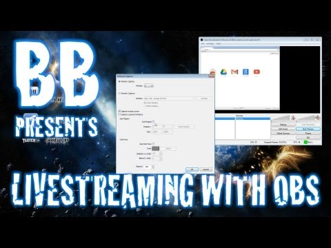 How To Stream Games With OBS (Open Broadcaster Software)