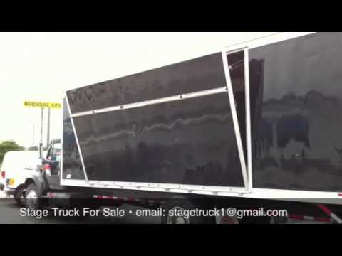 18 Wheeler For Sale >> Stage Truck For Sale - YouTube