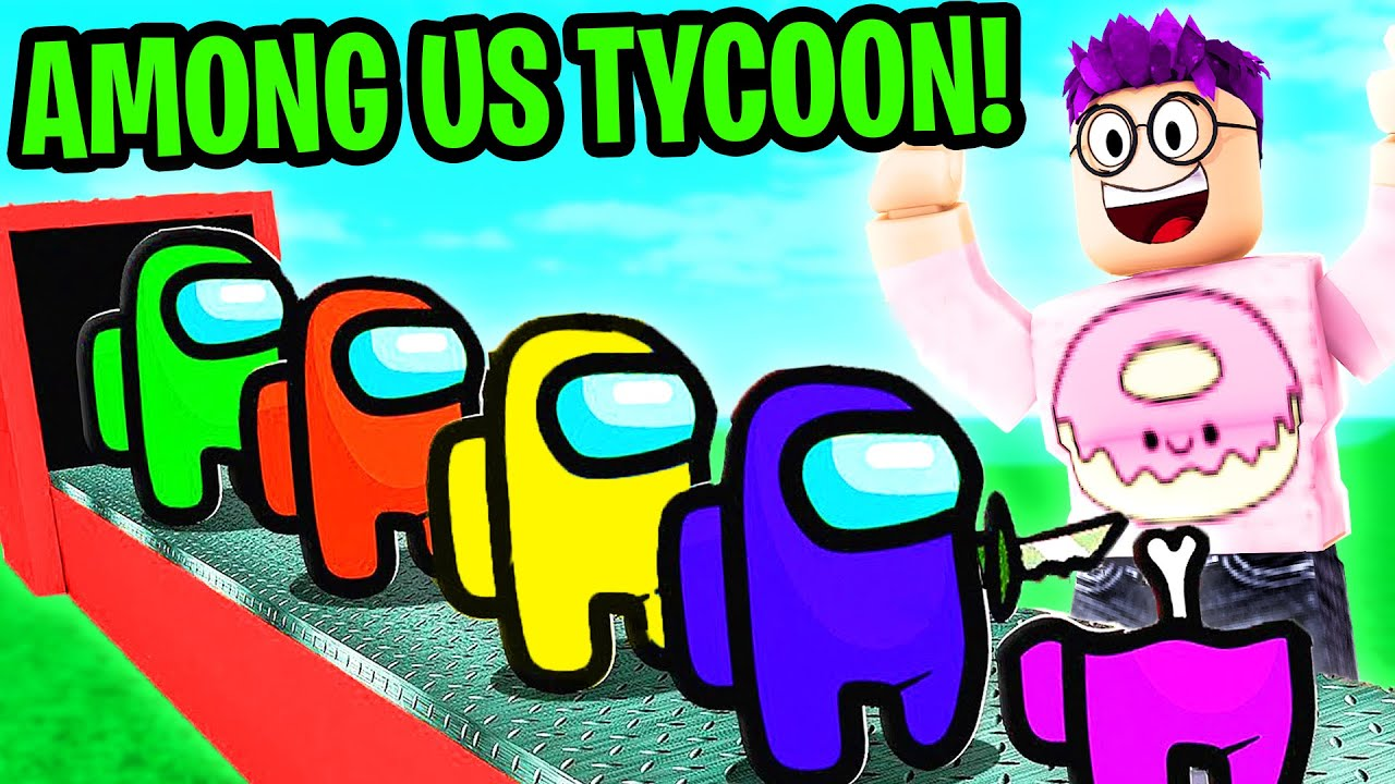 Can We Beat ROBLOX AMONG US TYCOON!? (FUNNY MOMENTS)