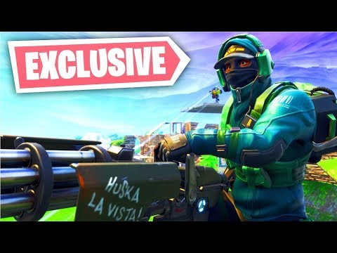 *New* Nvidia Geforce Fortnite Skin Bundle Gameplay (Exclusive PC Skin)