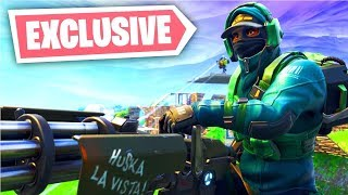 'New' Nvidia Geforce Fortnite Skin Bundle Gameplay (Exclusive PC Skin)