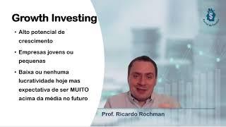 Estratégias de Fundos de Ações: Crescimento ou Growth Investing