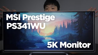 MSI Prestige PS341WU 5K Ultrawide Monitor Review - Suitable for Architecture?