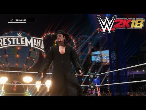 WWE 2K18 - The Undertaker vs. Roman Reigns | Wrestlemania 33