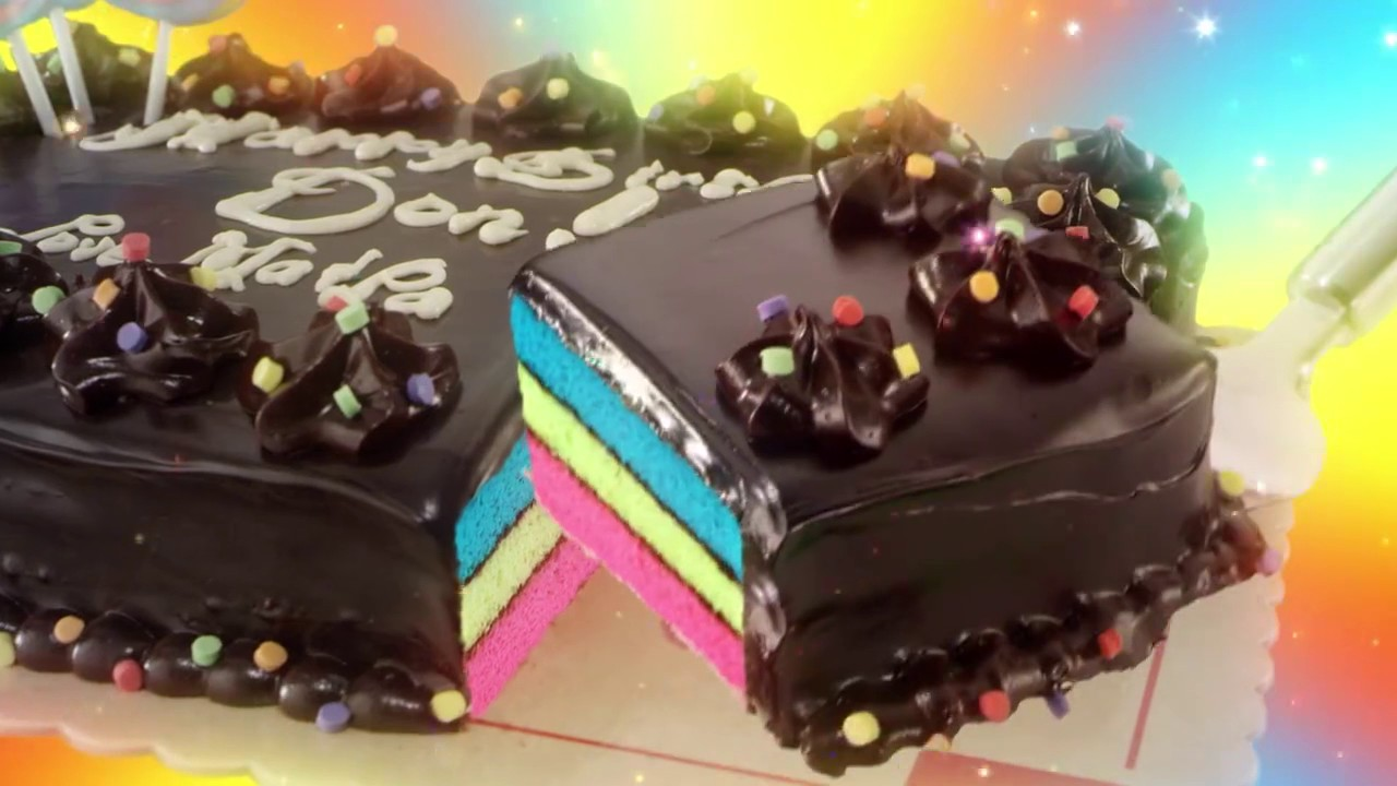 Red Ribbon Rainbow Dedication Cake Skywalker 15s Tvc 2017 Youtube