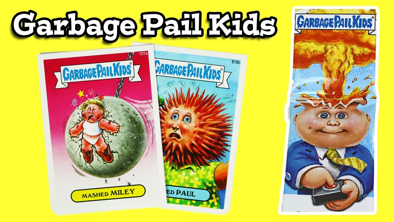 Garbage Pail Kids Opening 2 Youtube
