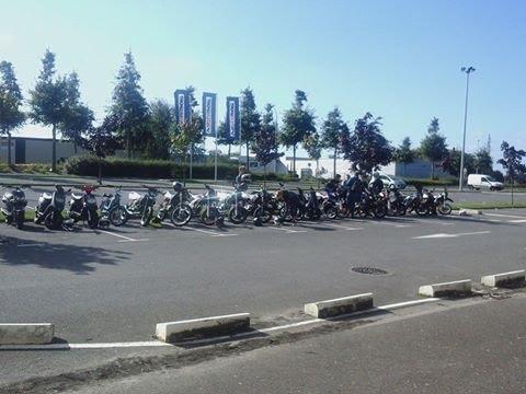 rassemblement 50cc Saint Malo aout 2014