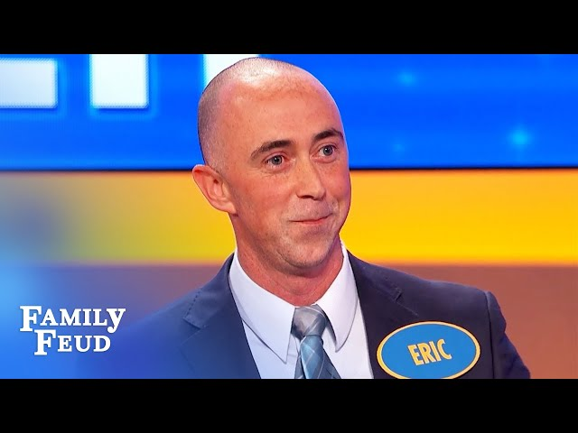 CRINGE! While picking up your VIAGRA you run into... | Family Feud