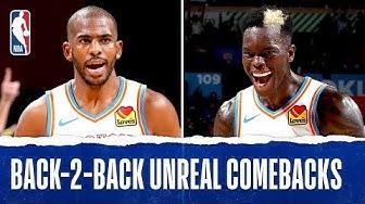 Back-2-Back UNREAL Comebacks For OKC
