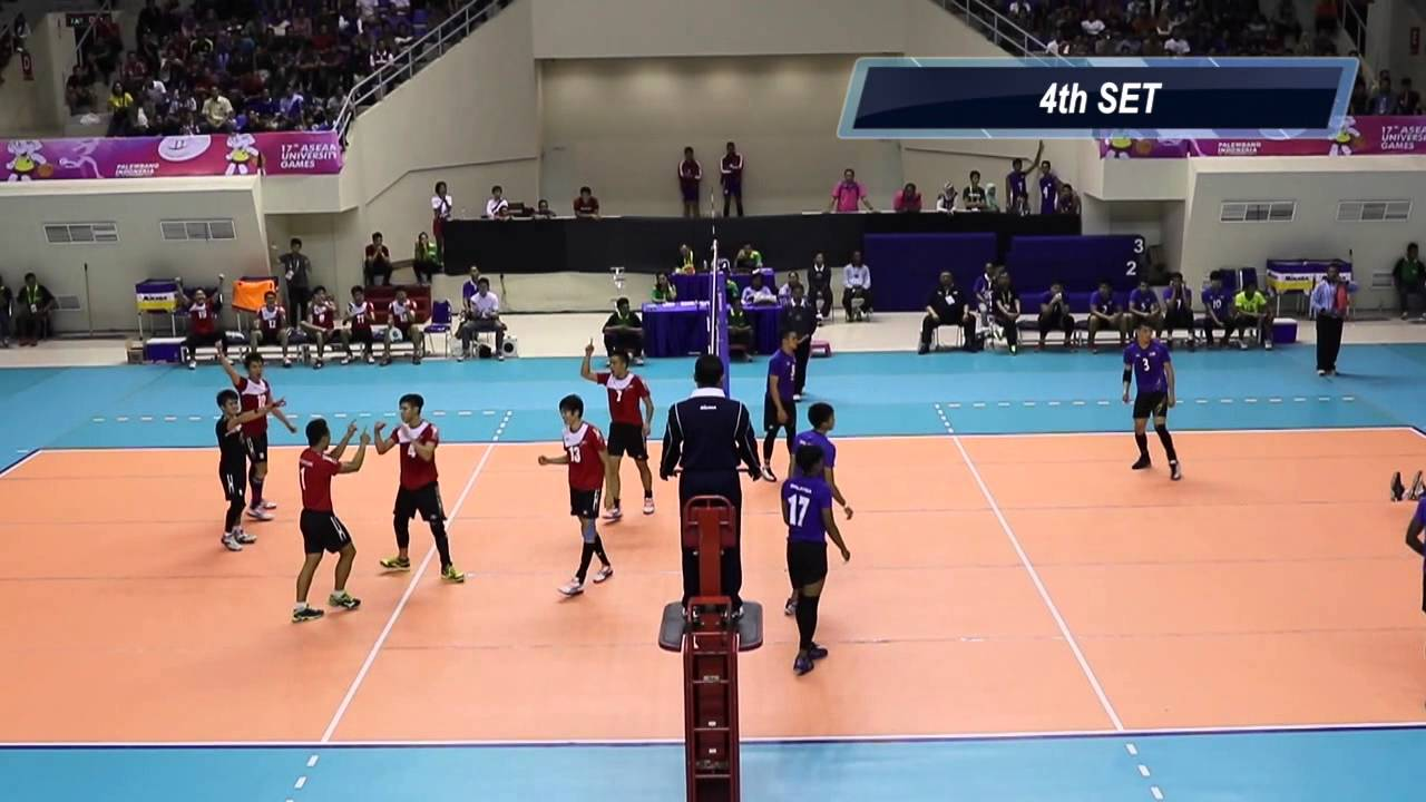 Asean University Games  Volleyball M Bronze Medal Match Singapore Vs Malaysia Youtube