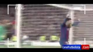 lionel messi celebration after sergio roberto winning goal fcb vs psg