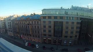 Прогулка по крыше на Невском проспекте