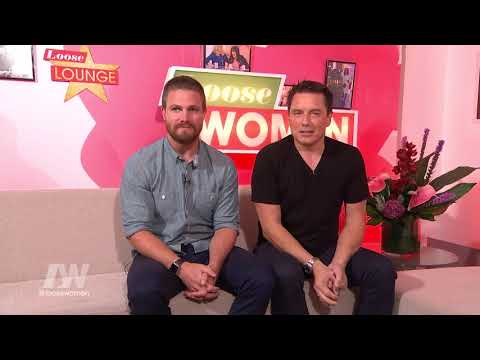 John Barrowman And Stephen Amell Are In The Green Room | Loose Women