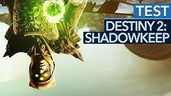 Verkehrte Welt: Destiny 2 schwächelt ausgerechnet beim neuen Bezahl-DLC Shadowkeep - Test / Review