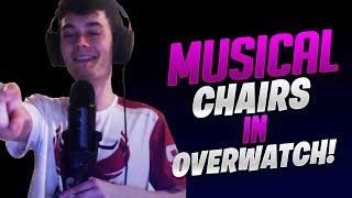 Musical Chair In Overwatch! - Overwatch
