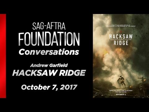 Conversations with Andrew Garfield of HACKSAW RIDGE