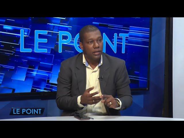 LE POINT 11/05/21 : Le président de l'Association des Pharmaciens d'Haïti, Pierre Hugues Saint-Jean