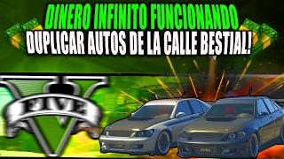 TRUCO DINERO INFINITO FUNCIONANDO DUPLICAR AUTOS DE LA CALLE! |GTA 5 Online DINERO FACIL +45 MIN!