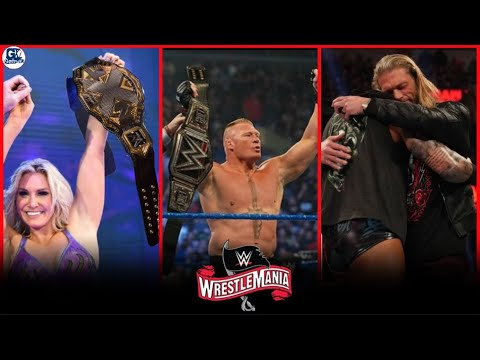 WWE Wrestlemania 36- 5 April 2020 Highlights Preview   Wrestlemania 36 5/04/2020 Highlights