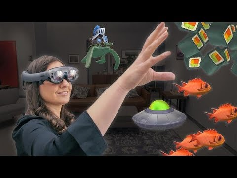 Test Driving Magic Leap's Augmented-Reality Goggles