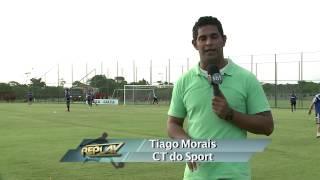 Replay - Sport quer quebrar tabu contra o Atlético-PR 13 11 14 - TV Jornal/SBT