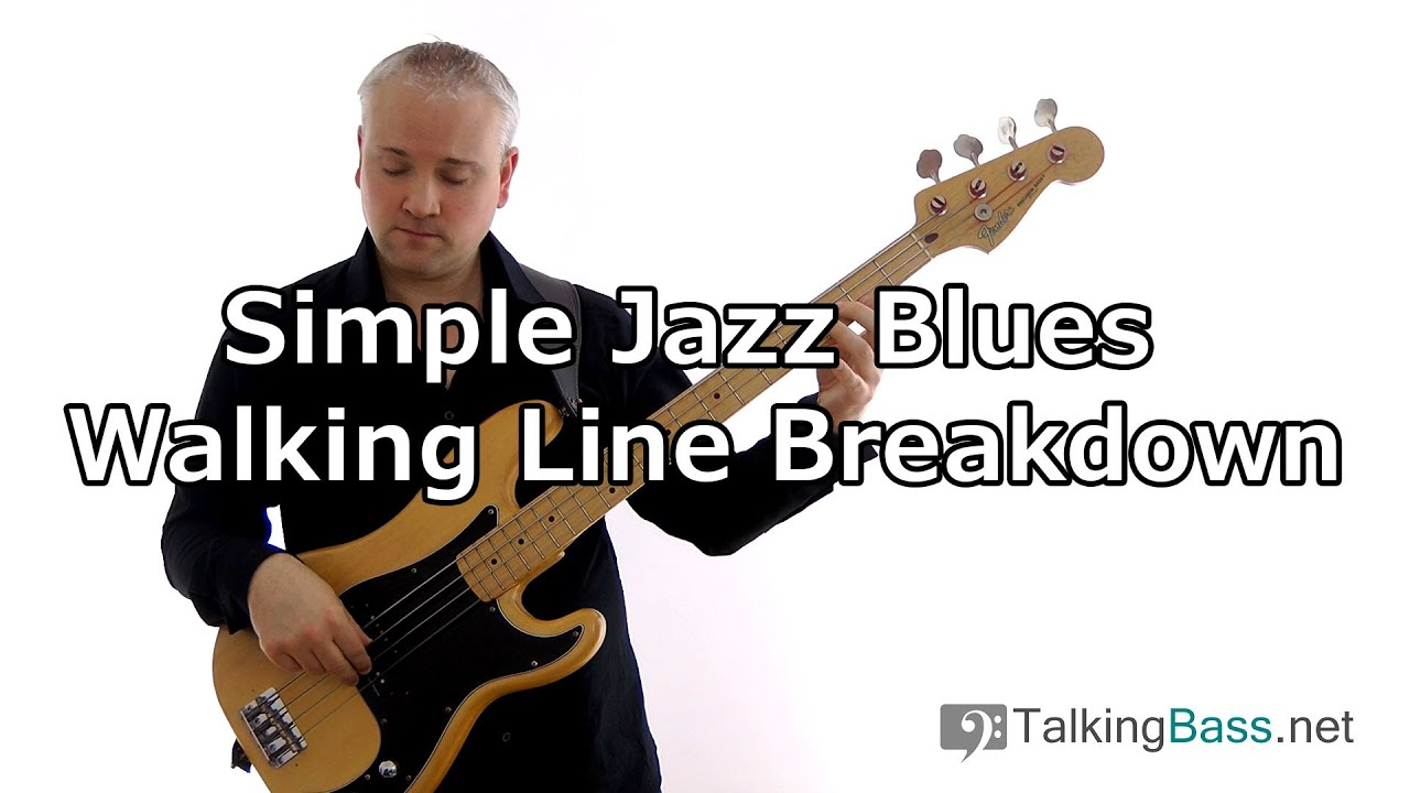 how to play simple bass lines