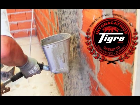 Revocadoras Tigre  Revoque en interior y exterior  YouTube