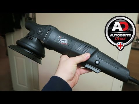 Autobrite DA-12 Dual Action Machine Polisher + DB2 Bag Bundle Package! (Autobrite Direct DA12)