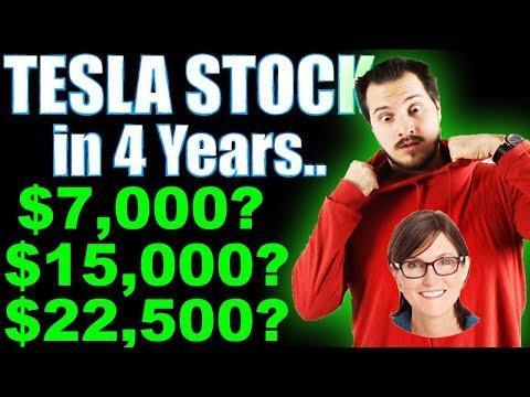 Let's Talk Cathie Wood Tesla Stock $7,000 - $15,000 - $22,000 Price Targets