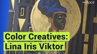 COLOR CREATIVES feat. artist, Lina Iris Viktor