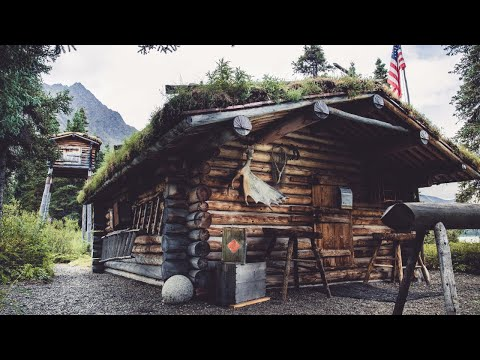 A Visit to Dick Proenneke's Log Cabin at Twin Lakes, Alaska | Nature and Relaxation